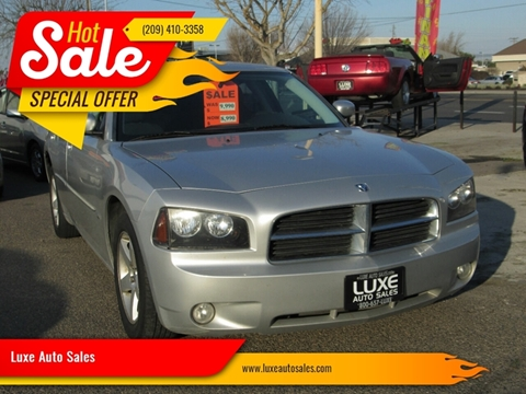 2010 Dodge Charger SXT for sale at Luxe Auto Sales in Modesto CA