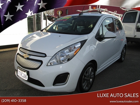 2016 Chevrolet Spark EV 1LT for sale at Luxe Auto Sales - Clean Air Qualified Vehicles in Modesto CA