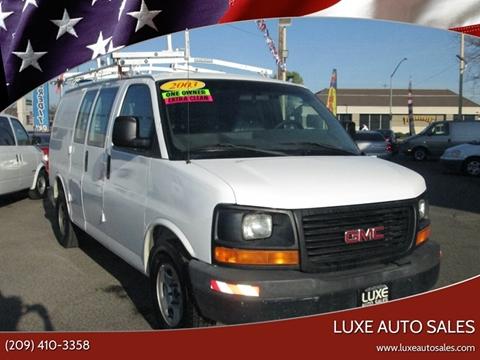 2003 GMC Savana Cargo 1500 for sale at Luxe Auto Sales in Modesto CA