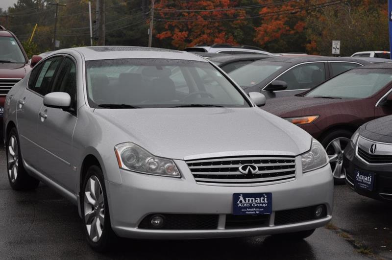 2006 Infiniti M35 Awd 4dr Sedan In Hooksett Nh Amati Auto Group
