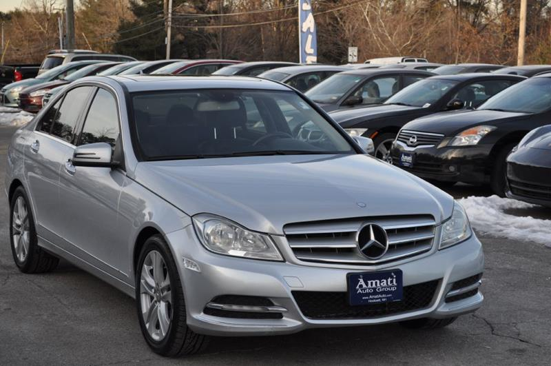 2012 mercedes-benz c-class c300 4matic in hooksett nh - amati auto group