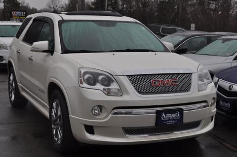 2012 GMC Acadia for sale in Hooksett, NH