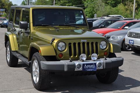 2008 Jeep Wrangler Unlimited for sale in Hooksett, NH