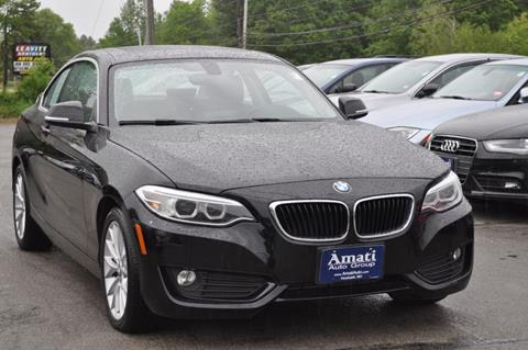 2015 BMW 2 Series for sale in Hooksett, NH