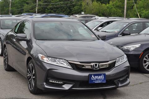 2016 Honda Accord for sale in Hooksett, NH