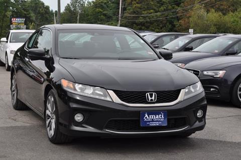 2013 Honda Accord for sale in Hooksett, NH