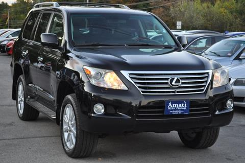 2009 Lexus LX 570 for sale at Amati Auto Group in Hooksett NH