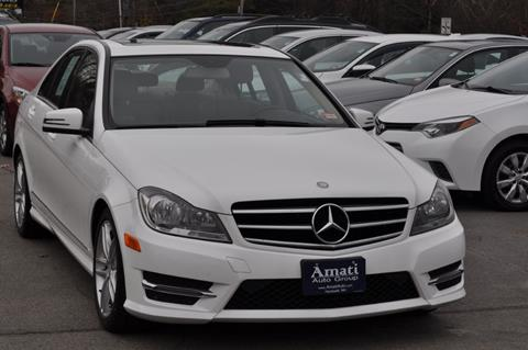 2014 Mercedes-Benz C-Class for sale at Amati Auto Group in Hooksett NH