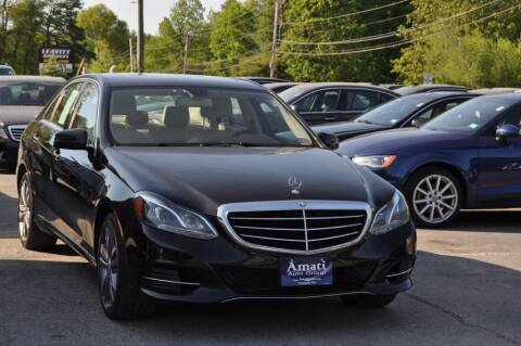 2014 Mercedes-Benz E-Class for sale at Amati Auto Group in Hooksett NH