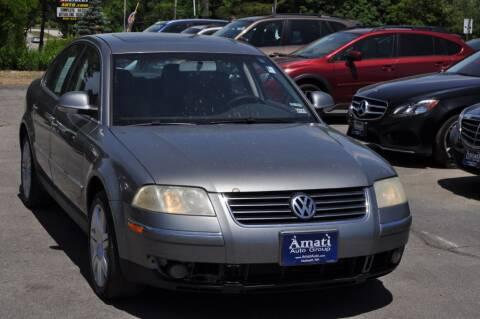 2005 Volkswagen Passat for sale at Amati Auto Group in Hooksett NH