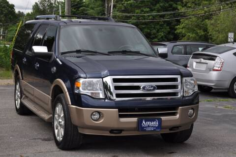 2013 Ford Expedition EL for sale at Amati Auto Group in Hooksett NH