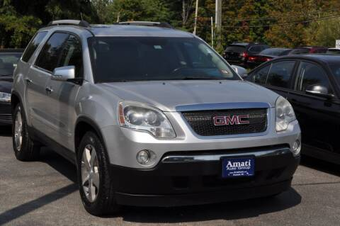 2011 GMC Acadia for sale at Amati Auto Group in Hooksett NH