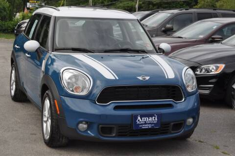 2011 MINI Cooper Countryman for sale at Amati Auto Group in Hooksett NH