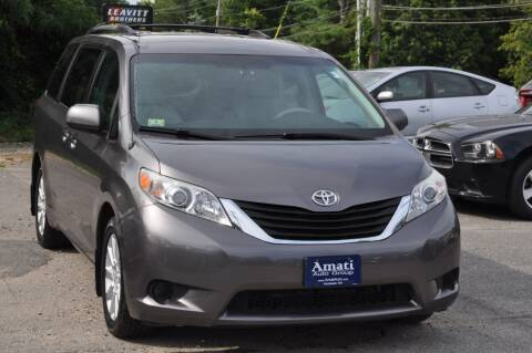 2011 Toyota Sienna for sale at Amati Auto Group in Hooksett NH