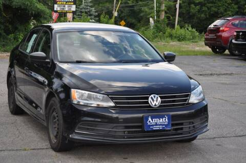 2015 Volkswagen Jetta for sale at Amati Auto Group in Hooksett NH