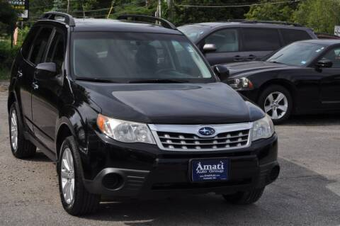 2011 Subaru Forester for sale at Amati Auto Group in Hooksett NH