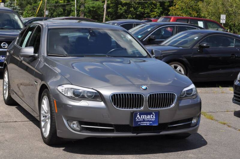 2011 BMW 5 Series for sale at Amati Auto Group in Hooksett NH