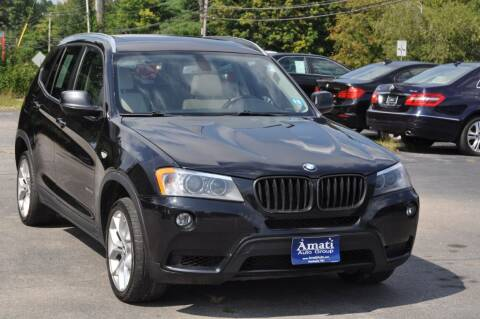 2012 BMW X3 for sale at Amati Auto Group in Hooksett NH