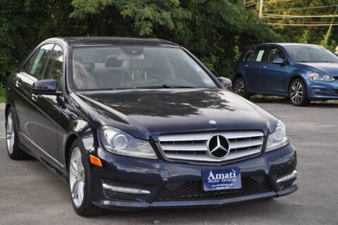 2012 Mercedes-Benz C-Class for sale at Amati Auto Group in Hooksett NH