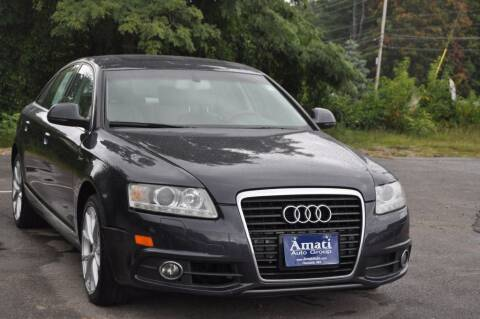 2011 Audi A6 for sale at Amati Auto Group in Hooksett NH