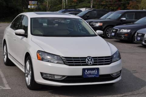2014 Volkswagen Passat for sale at Amati Auto Group in Hooksett NH