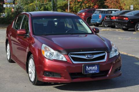 2011 Subaru Legacy for sale at Amati Auto Group in Hooksett NH