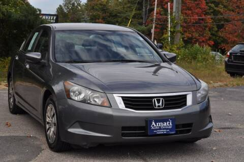 2010 Honda Accord for sale at Amati Auto Group in Hooksett NH