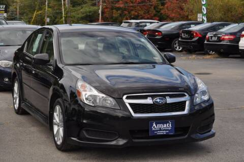 2013 Subaru Legacy for sale at Amati Auto Group in Hooksett NH