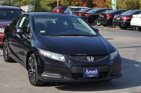 2013 Honda Civic for sale at Amati Auto Group in Hooksett NH