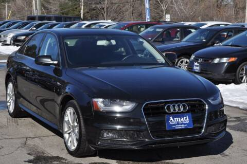 2015 Audi A4 for sale at Amati Auto Group in Hooksett NH