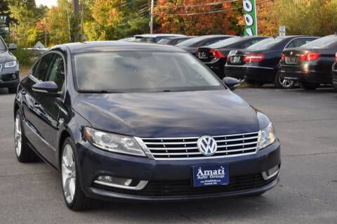 2013 Volkswagen CC for sale at Amati Auto Group in Hooksett NH