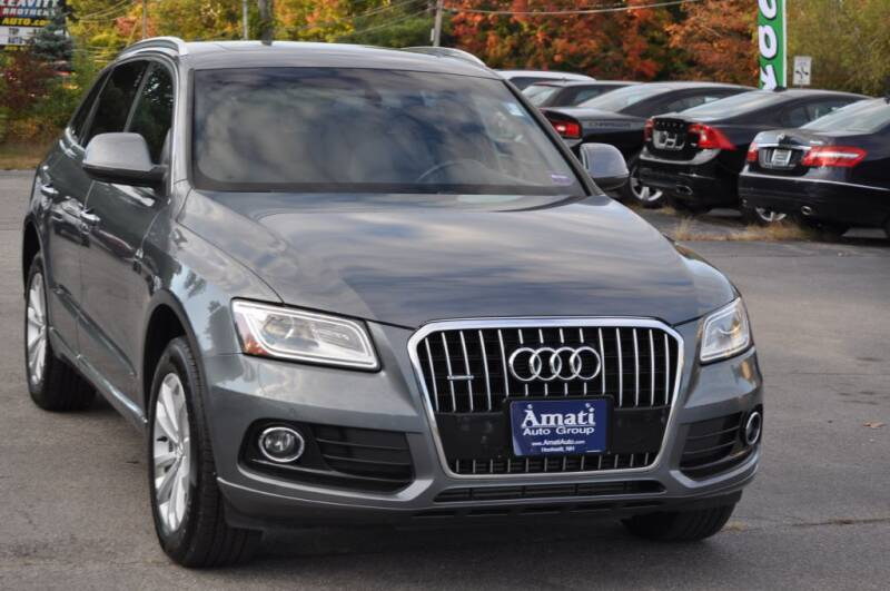 2015 Audi Q5 for sale at Amati Auto Group in Hooksett NH