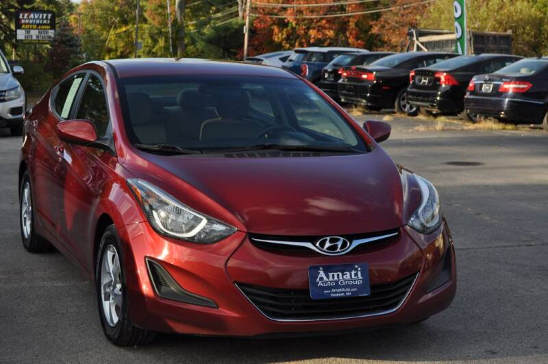2014 Hyundai Elantra for sale at Amati Auto Group in Hooksett NH