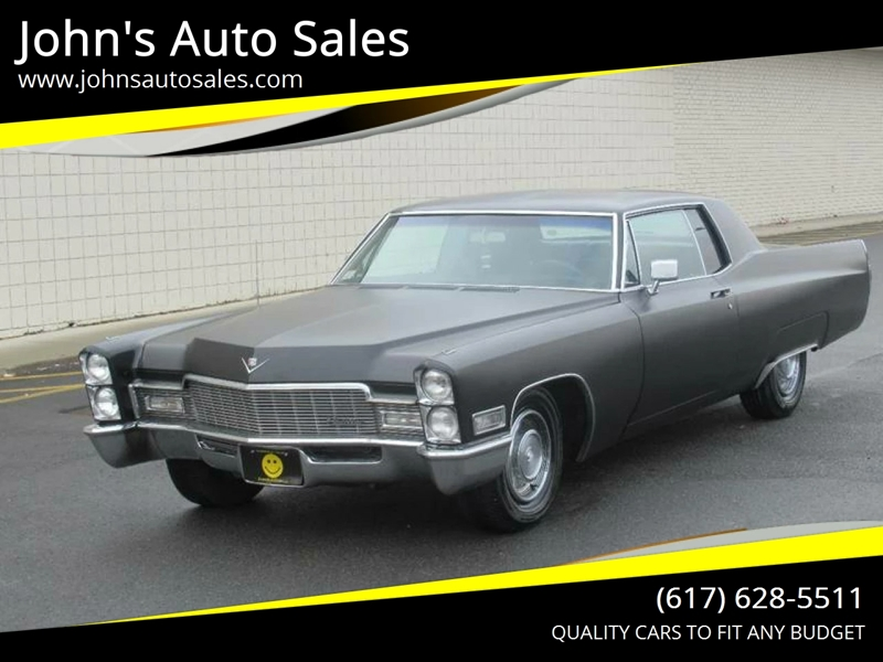 1968 Cadillac Deville Coupe In Somerville Ma John S Auto Sales