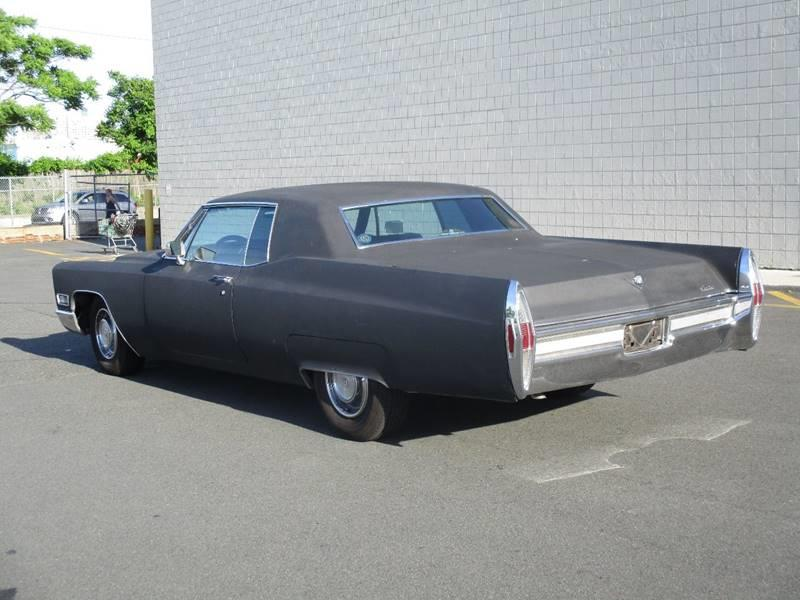 1968 cadillac deville in somerville ma john 39 s auto sales. Black Bedroom Furniture Sets. Home Design Ideas