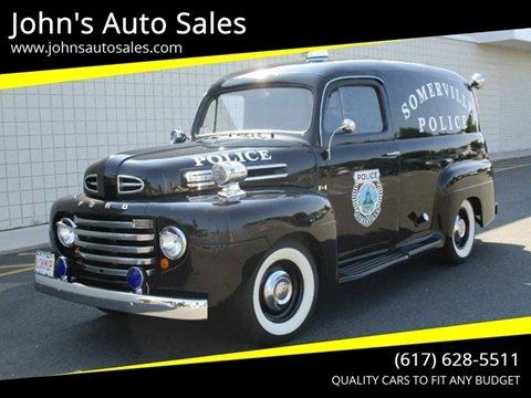 1948 Ford Panel Truck for sale in Somerville, MA