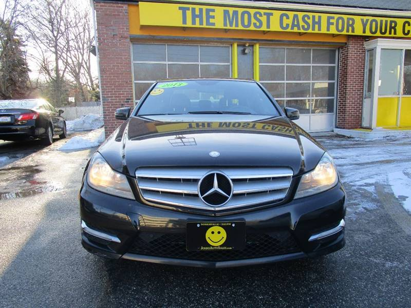 2013 Mercedes-Benz C-Class C300 Luxury 4MATIC AWD 4dr Sedan - Somerville MA
