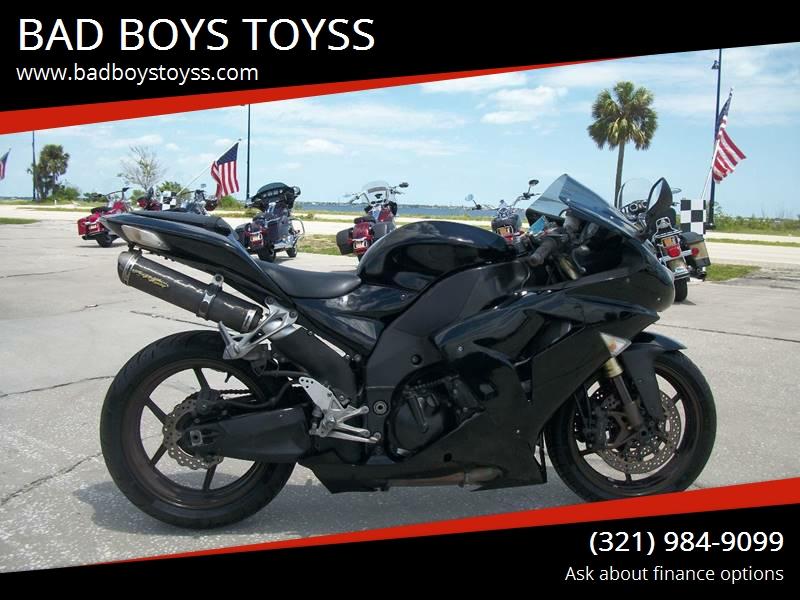 2006 Kawasaki Ninja Zx 10r Zx1000 In Palm Bay Fl Bad Boys Toyss