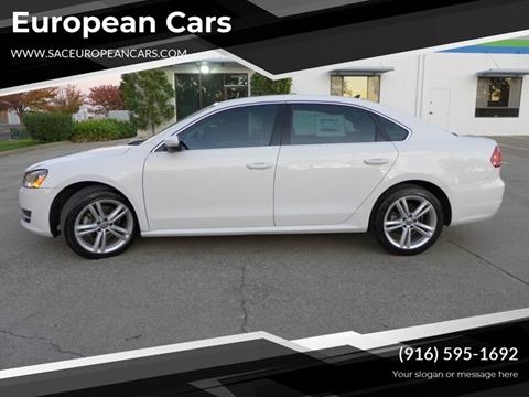 2015 Volkswagen Passat for sale in Sacramento, CA