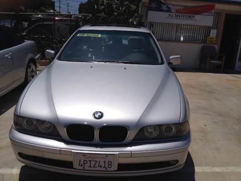 2001 BMW 5 Series for sale at A 1 MOTORS in Lomita CA