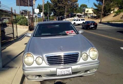2000 Mercedes-Benz E-Class for sale at A 1 MOTORS in Lomita CA