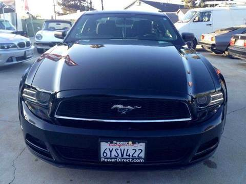 2013 Ford Mustang for sale at A 1 MOTORS in Lomita CA