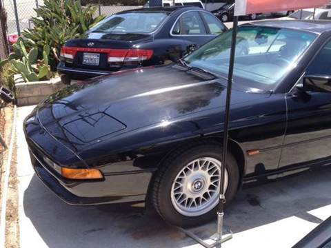 1995 BMW 8 Series for sale at A 1 MOTORS in Lomita CA