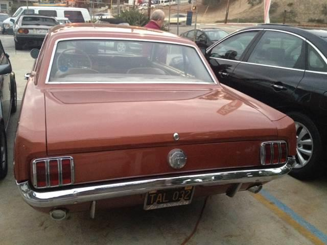 1966 Ford Mustang for sale at A 1 MOTORS in Lomita CA