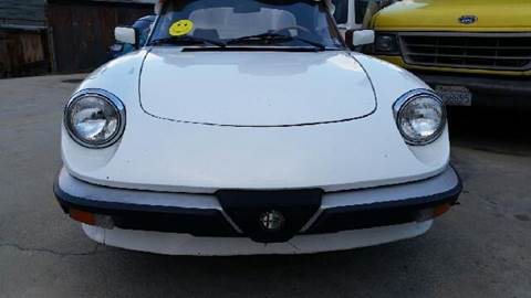 1984 Alfa Romeo Spider for sale at A 1 MOTORS in Lomita CA