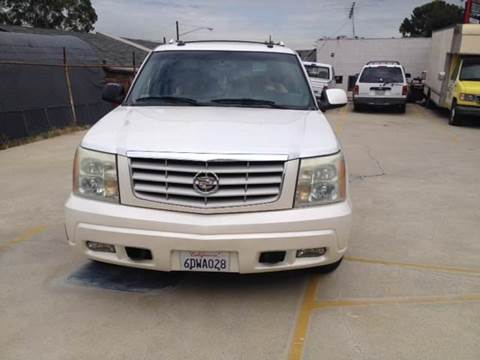 2003 Cadillac Escalade ESV for sale at A 1 MOTORS in Lomita CA