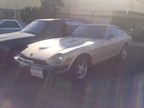 1977 Datsun Fairlady 280Z for sale at A 1 MOTORS in Lomita CA