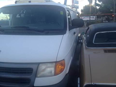 1998 Dodge Ram Cargo for sale at A 1 MOTORS in Lomita CA