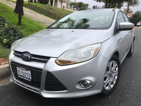 2012 Ford Focus for sale at A 1 MOTORS in Lomita CA