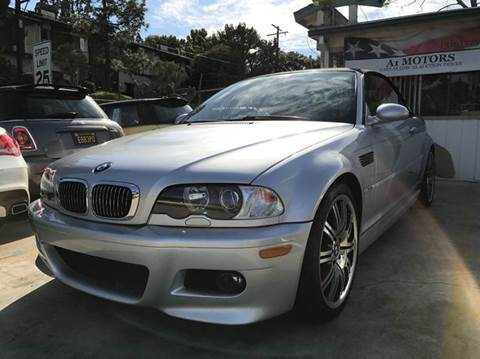 2003 BMW M3 for sale at A 1 MOTORS in Lomita CA
